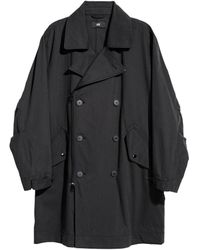 H&M   Double-breasted Coat   Lyst