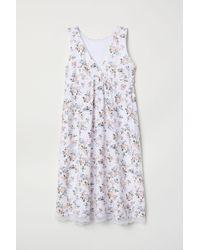 H&M - Mama Nursing Nightdress - Lyst