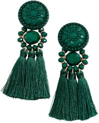 H&M - Earrings With Tassels - Lyst