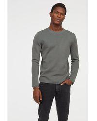 H&M - Fine-knit Silk-blend Jumper - Lyst