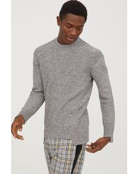 H&M - Knitted Jumper - Lyst