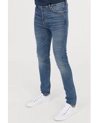 H&M - Skinny Carrot Jeans - Lyst