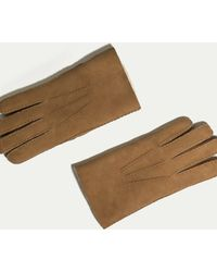 Hackett - Shearling Gloves - Lyst