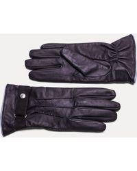 Hackett - Commuter Leather Gloves - Lyst