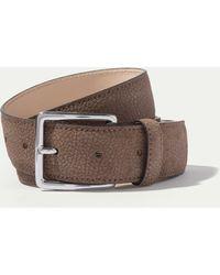 Hackett | Textured Nubuck Belt | Lyst