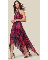 Halston - Handkerchief Hem Gown - Lyst