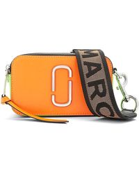 Marc Jacobs - Snapshot Fluoro Bag In Bright Orange Multi - Lyst