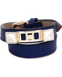 Proenza Schouler - Ps11 Double Bracelet In Blue - Lyst