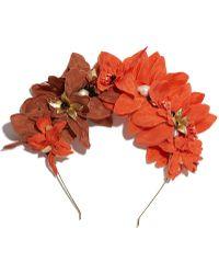 Lizzie Fortunato - Headband In Tropical Flower - Lyst