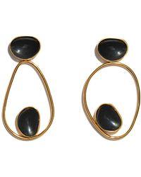 Lizzie Fortunato - Echo Earrings In Black - Lyst