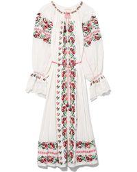 Ulla Johnson | Filia Dress In Natural Ts | Lyst