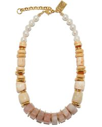 Lizzie Fortunato - Pink Sands Necklace - Lyst