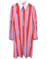 Vivetta - Amaltea Dress In Multi Red - Lyst