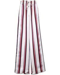 Monse - Striped Wide-leg Trousers - Lyst