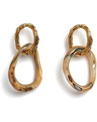 Lizzie Fortunato - Loto Earrings - Lyst