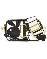 Marc Jacobs - Snapshot Small Playboy Bag In Black Multi - Lyst