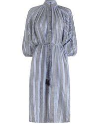 Zimmermann - Zephyr Batwing Shirt Dress - Lyst