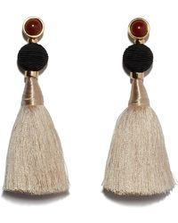 Lizzie Fortunato - Puglia Fringe Earrings - Lyst