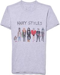 Unfortunate Portrait - Hairystyles Short Sleeve Tee - Lyst