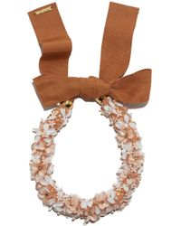 Lizzie Fortunato - Flower District Collar - Lyst