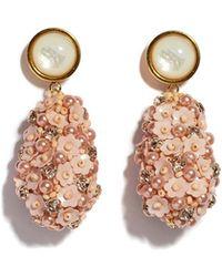 Lizzie Fortunato - Roman Party Earrings In Rose - Lyst