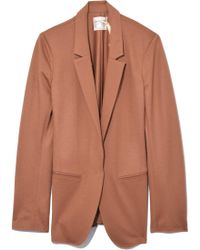 Giada Forte - Flannel Chic Jacket In Cameo - Lyst