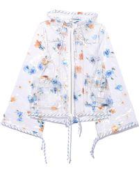 Ganni - Petunia Jacket In Transparent - Lyst