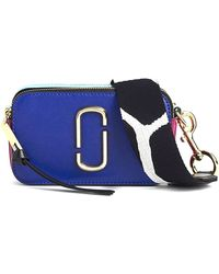 Marc Jacobs - Snapshot Bag In Academy Blue Multi - Lyst