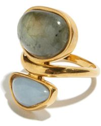 Lizzie Fortunato | Valley Ring In Labradorite | Lyst