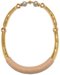 Lizzie Fortunato - Saddle Necklace - Lyst