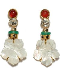 Lizzie Fortunato - Margherita Earrings - Lyst
