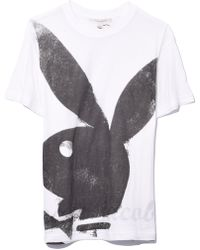 Marc Jacobs - Bunny Print Tee Shirt In White - Lyst