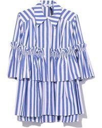 Vivetta - Denebola Shirt In Navy - Lyst