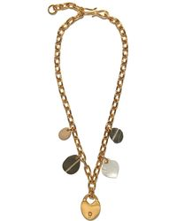 Lizzie Fortunato Heart Of Gold Necklace - Metallic