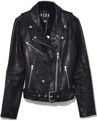 VEDA - Jayne Classic Jacket In Black - Lyst