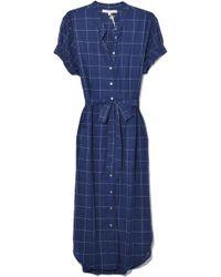 9b65770b3e84 Lyst - Temperley London  riviera  Ruffle Graphic Jacquard Mini Dress
