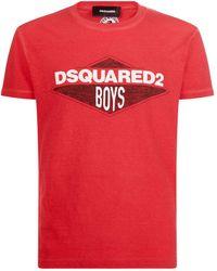 DSquared² - Boys Logo T-shirt - Lyst