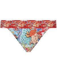 Gottex - Printed Bikini Bottoms - Lyst