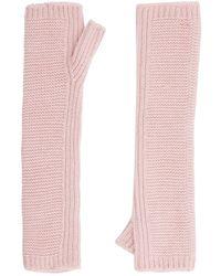 Harrods - Chunky Knit Wrist Warmers - Lyst