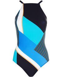 Gottex - Striped Swimsuit - Lyst