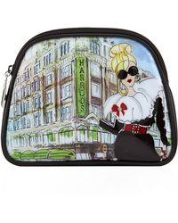 Harrods | Glamorous Girls Cosmetic Bag, White | Lyst