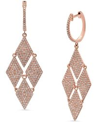 Kenza Lee - Chandelier Drop Earrings - Lyst