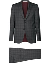 Pal Zileri - Check Wool Suit - Lyst