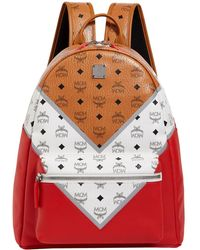 MCM - Medium Stark M Move Visetos Backpack - Lyst