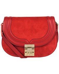 MCM - Small Trisha Chain Bag - Lyst