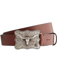 Ralph Lauren - Leather Pin Buckle Belt - Lyst