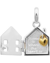 Links of London - Home Locket Charm - Lyst