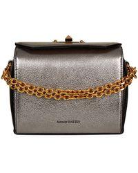 Alexander McQueen - Leather Box Bag 19 - Lyst