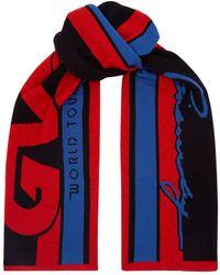 Givenchy - Logo Knit Scarf - Lyst