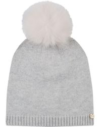 Yves Salomon - Fox Fur Pompom Hat - Lyst